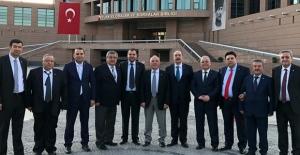 Hacıkuloğlu ve ekibi Ankara'da...