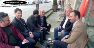Şehit Polisin babasını ziyaret ettiler...