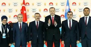 Adaylar, Erdoğan'la poz verdi...