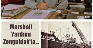 Marshall yardımı Zonguldak da