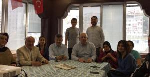 Özbakır, SKM#039;yi ziyaret eden...