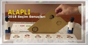 Alaplı'da Tayyip Erdoğan ve AK Parti fark attı... İşte tam sonuçlar...