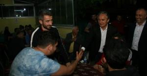 Ayan, Destek Turlarını Kozlu'da sürdürdü!..