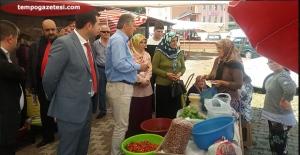 Ayan, Seçim çalışmalarını Perşembe'de sürdürdü!...