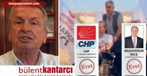 Kantarcı'dan İnce'ye videolu destek