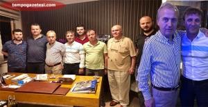 """Fikri Asım'dan Uçar'a ziyaret. """"Zonguldakspor'un sıkıntısını biliyorum"""""""
