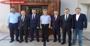 Vekiller, Vali Çınar'ı ziyaret ettiler!..