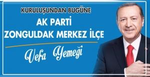 "AK Parti'de ""Vefa Yemeği"""