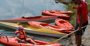 Çaycuma Belediyesinden bir ilk daha Ücretsiz kano kursu başladı