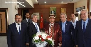 Ahilik Haftası kapsamında Vali Çınar'a ziyaret!..