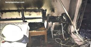 Çıkan yangın evi kül etti!..