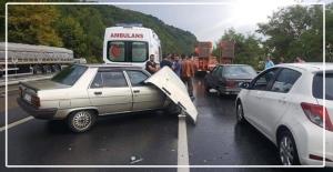Zincirleme trafik kazası...