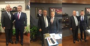 Akdemir'den AK Partili vekillere ziyaret!..