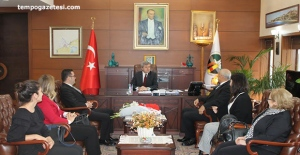 Baro'dan Vali Çınar'a ziyaret