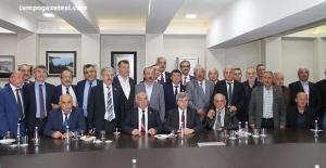 Vali Ahmet Çınar, Muhtarlarla buluştu!..