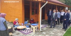 Vali Çınar, Eceler köyünde!..