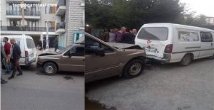Zincirleme kaza; 1 yaralı