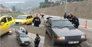 Zonguldak'ta Trafik Polisleri Göz Açtırmıyor