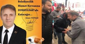 """""""AK Parti'nin en güçlü adayı benim"""""""
