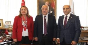 Balıkesir ve Adana vekilleri Zonguldak'ta!..