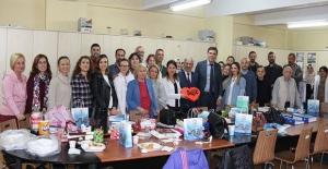 Başkan Yılmaz, tüm öğretmenleri ziyaret etti