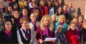 CHP'li Kadınlar, Şiddete Karşı!..