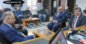 Çorumluoğlu'ndan TÜRK-METAL'e ziyaret