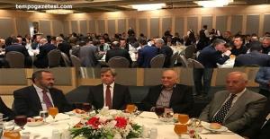 Vali Ahmet Çınar için herkes veda yemeğinde!..
