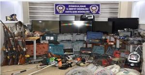 23 Evi Soyan Hırsız Çetesi Çökertildi