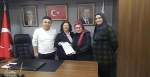 Bayan Gonca AK Partiden aday adayı...