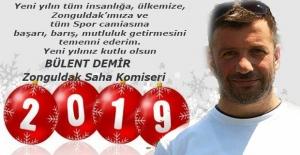 Bülent Demir, 2019'u kutladı...
