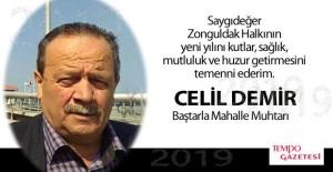 Celil DEMİR'den yeni yıl mesajı....