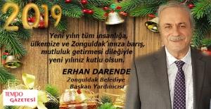 Erhan Darende'nin yeni yıl mesajı...