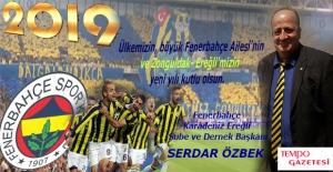 Serdar Özbek'ten yeni yıl mesajı...