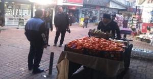 Seyyar satıcılara ceza yağdı…