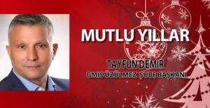 Tayfun Demir'den  yeni yıl mesajı...