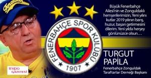 Turgut Papila'dan yeni yıl mesajı...