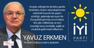 Yavuz Erkmen, Kutladı...