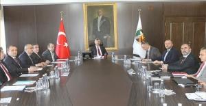 Zonguldak'ın projelerini konuştular!...