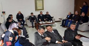 AK Parti tam kadro UYSAL'ı ziyaret etti!...