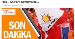 Ankara kuşu, Çaycuma adayını bildi...