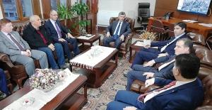 Filistin Büyükelçisi Zonguldak'ta