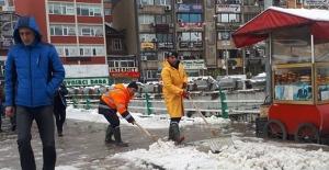 Zonguldak Belediyesi çalışıyor!...