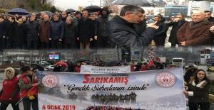 Zonguldak'ta Sarıkamış şehitleri anıldı....