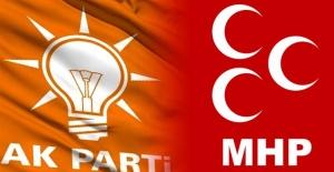 AK Parti ve MHP kurmayları 2#039;nci...