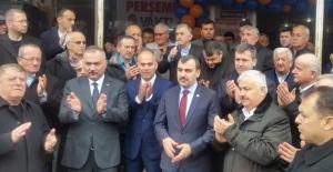 Perşembe'de seçim ofisi açıldı