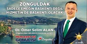 Zonguldak, hizmetin de başkenti olacak