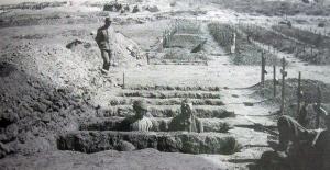 Çanakkale'de siperleri madenciler kazdı