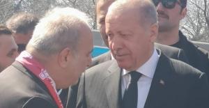 Celil Uzun, Cumhurbaşkanı'ndan söz aldı