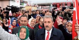 Destici, Ereğli'de miting düzenledi